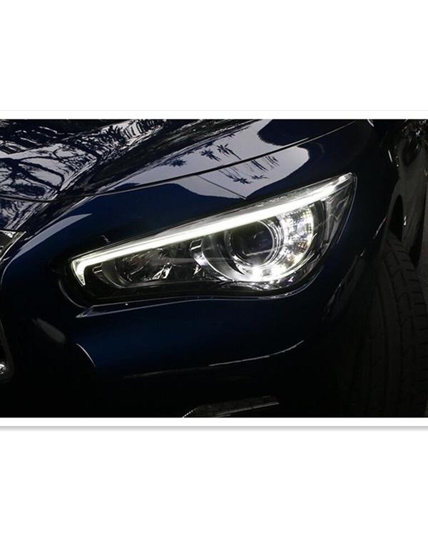 2015 INFINITI Q50L headlamp
