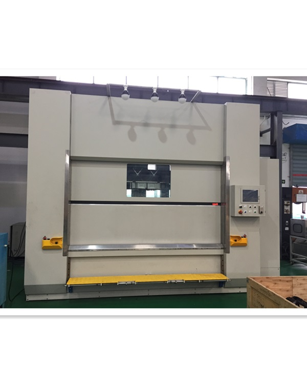 Vibration-friction welding machine for  instrument panel