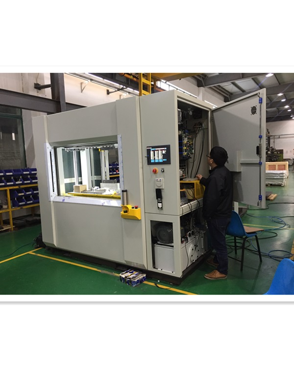 Vibration-friction welding machine for taillamp