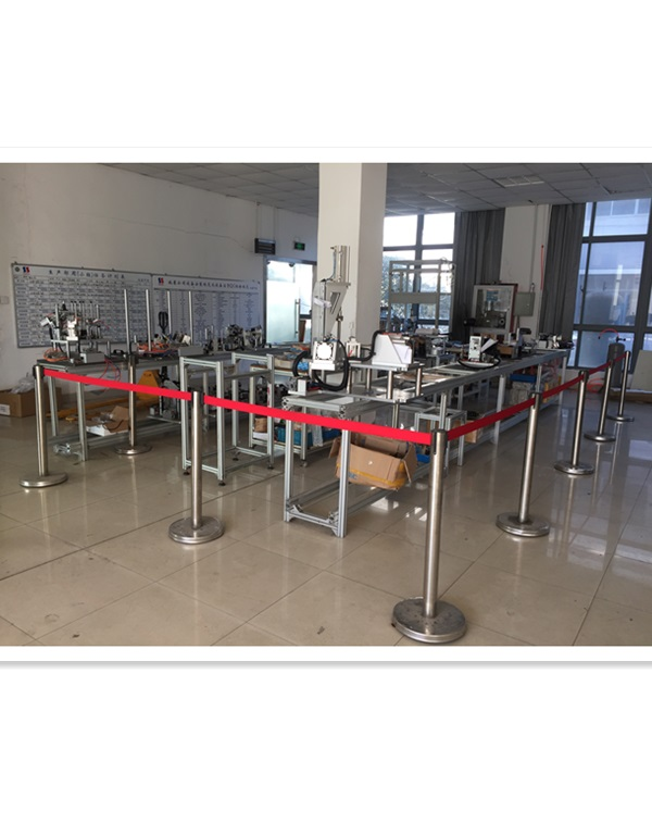 automatic assembling and testing line