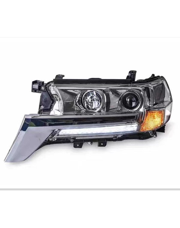 modified and OEM  2017 Toyota land cruiser headlamp