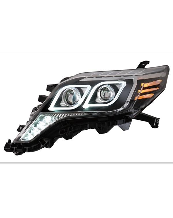 modified  2014 UP Toyota prado headlamp