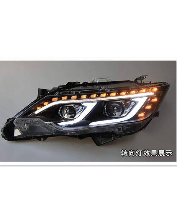 2015 Toyota camry headlamp in benz style